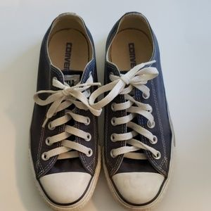 Blue Converse All Star Sneakers - size 7